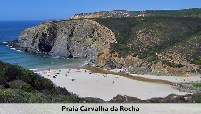 Praia Carvalha da Rocha