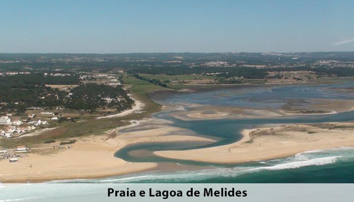 Praia e Lagoa de Melides