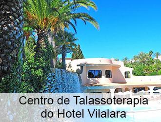 Centro de Talassoterapia do hotel Vilalara