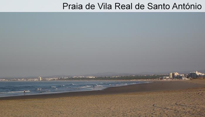 Praia de Vila Real de Santo Antonio