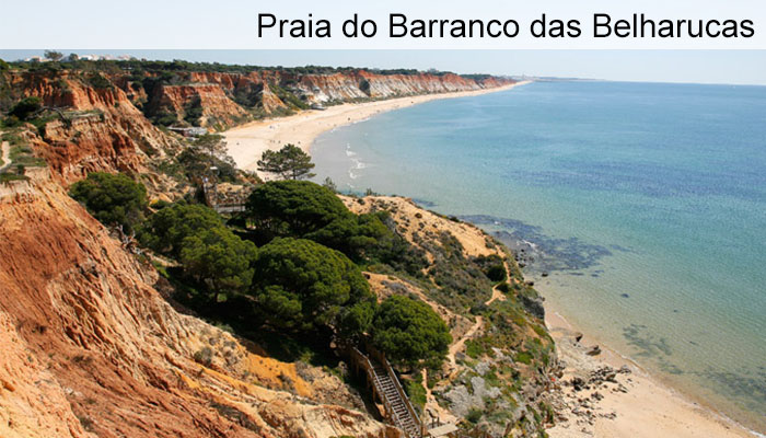Praia do Barranco das Belharucas