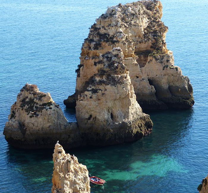 Algarve, Portugal, Mar, Natureza