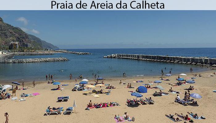 PRAIA DE AREIA DA CALHETA