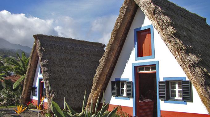 Casas tipicas de Santana1