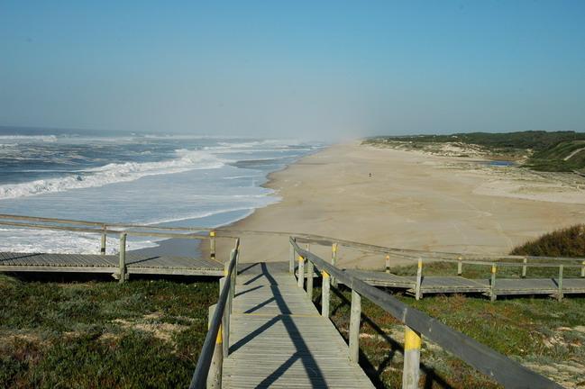 Praia Velha de Sao Pedro de Moel