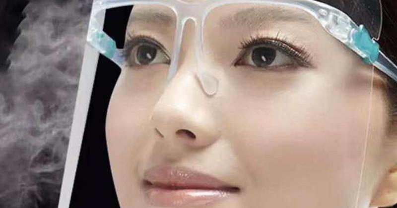 Meeting EN166, ANSI Z87_1 Provides you Full Face Protection Anti-fog Face Shield -1