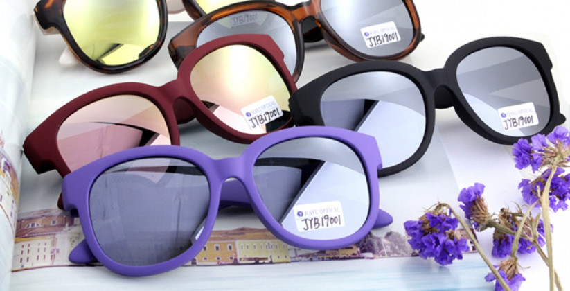 fashion-custom-logo-round-mirror-lenses-plastic-sunglasses - 副本